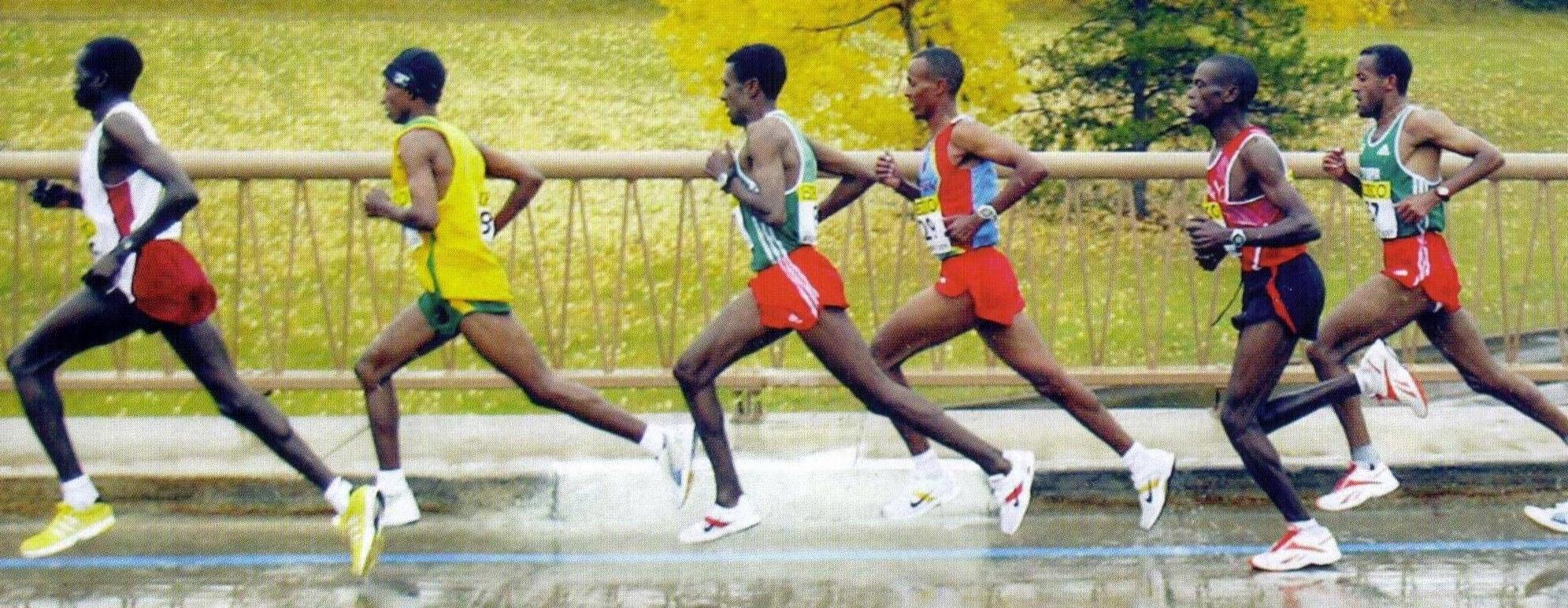 mustad jooksjad