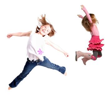 hüplevad lapsed